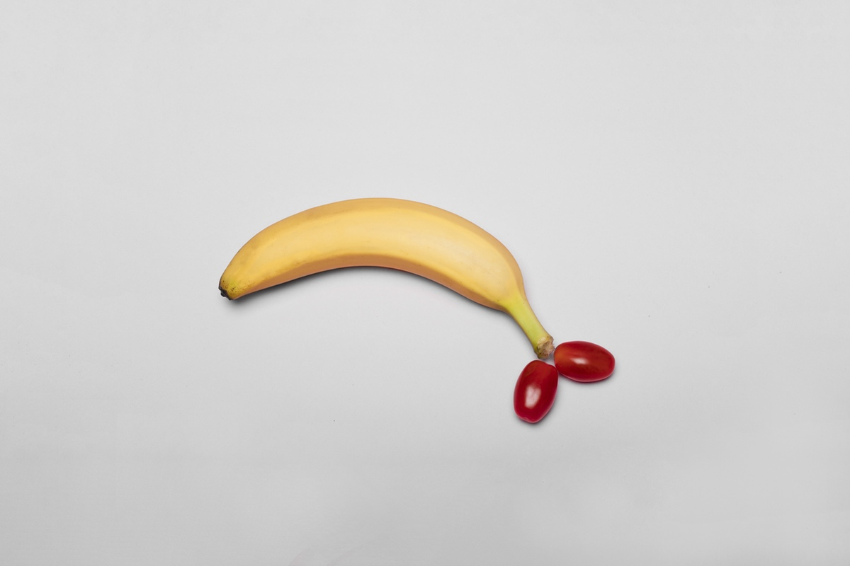 Banana dick foodporn