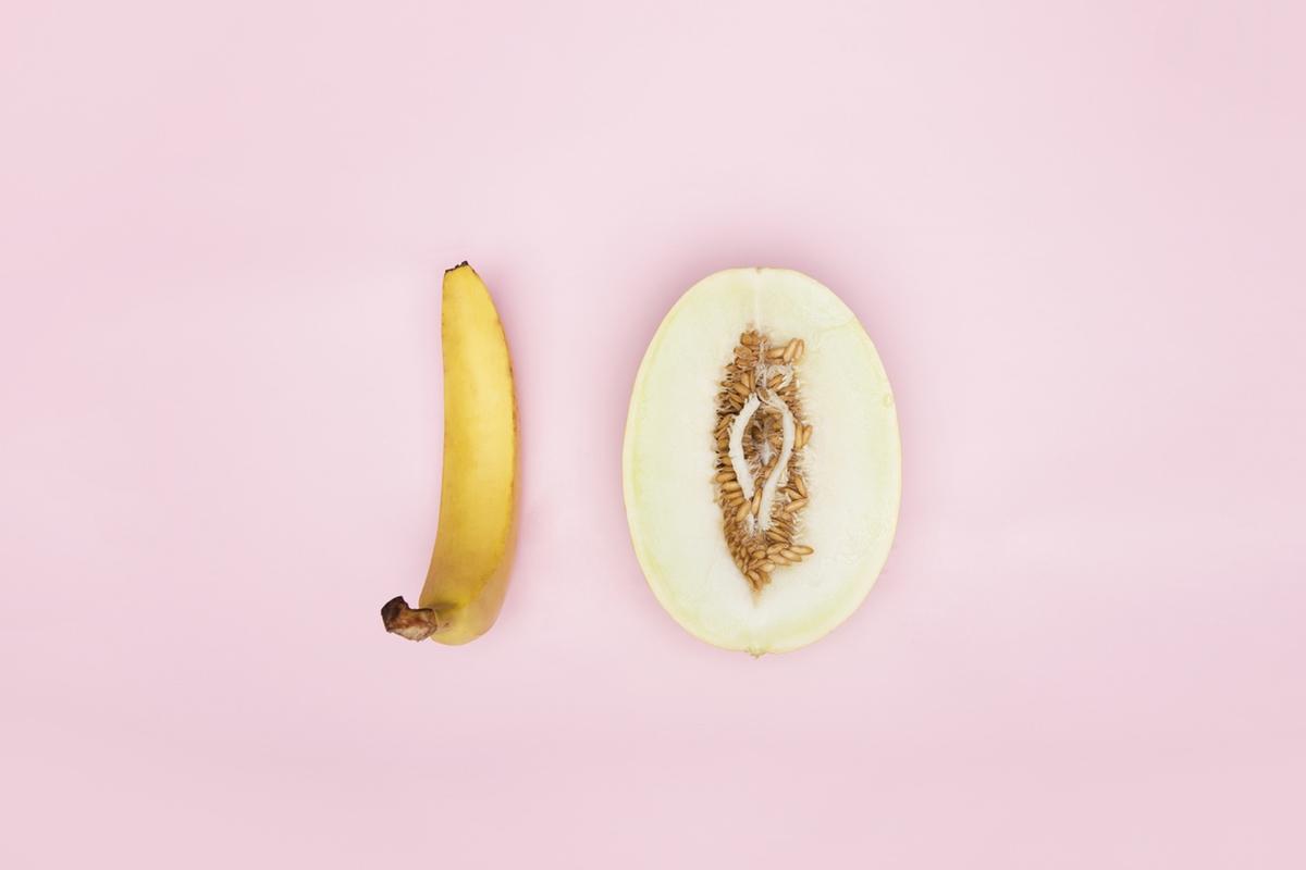 Banana melon foodporn