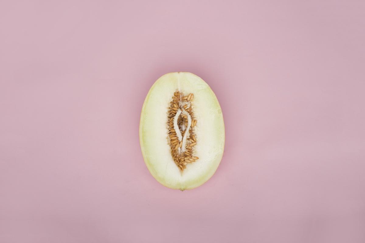 Food porn melon vagina