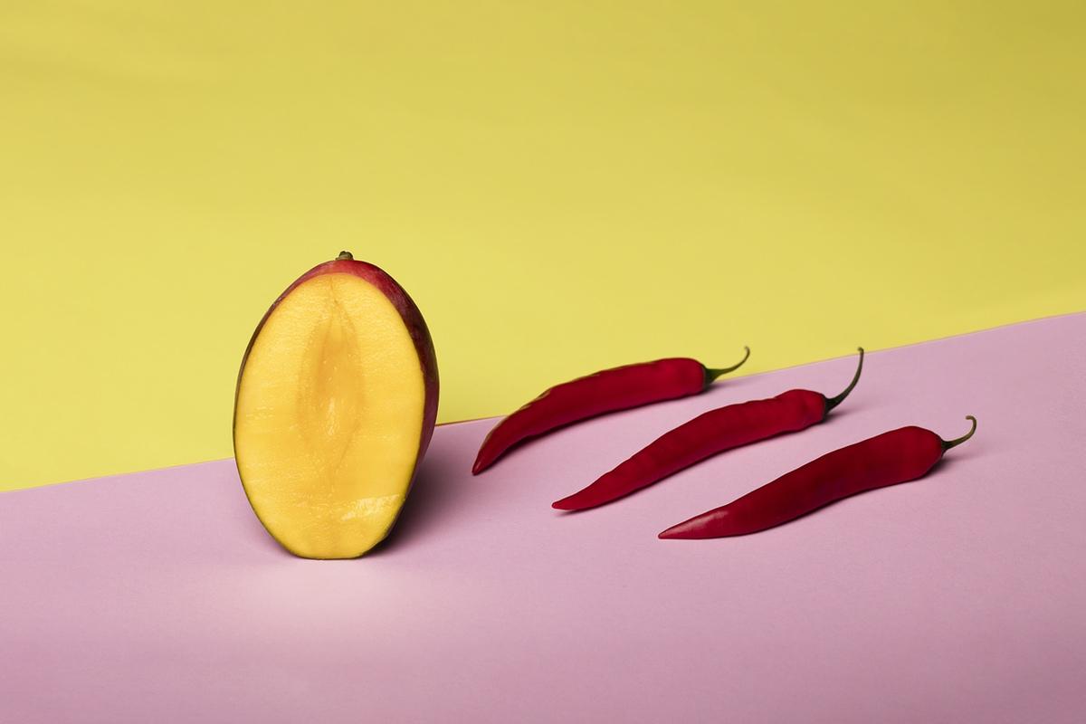 Mango peppers foodporn