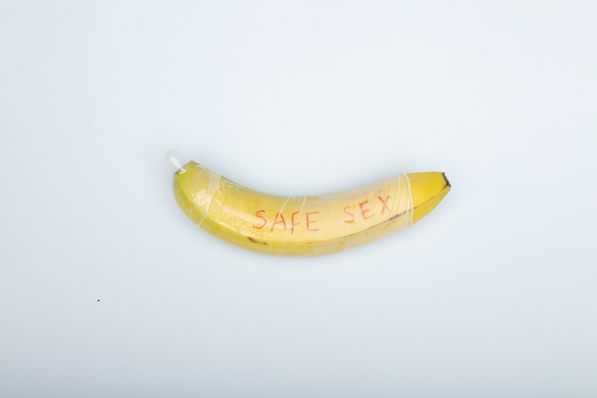 banana safe sex condom