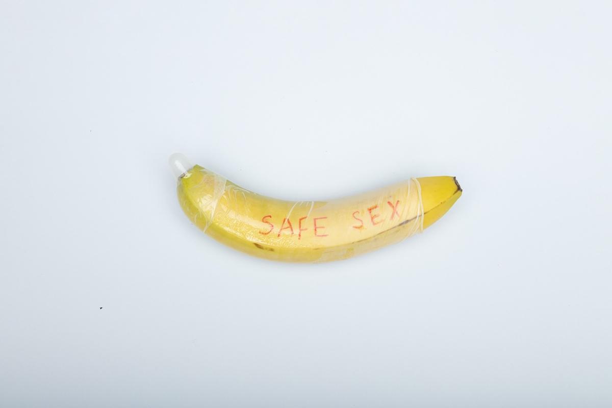 banana safe sex condom