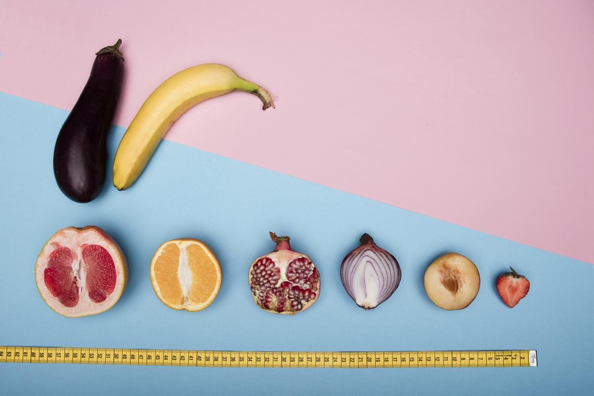 banana eggplant peach measure