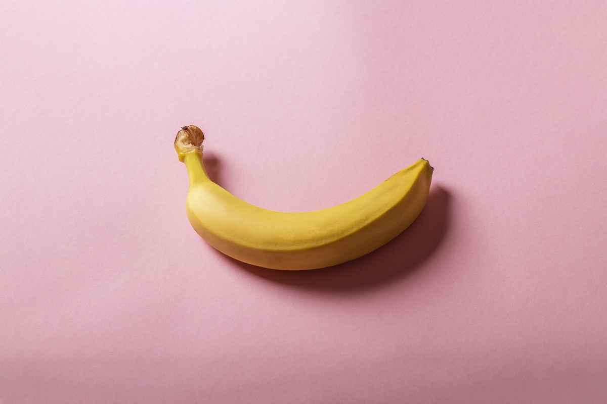 banana phallic photo
