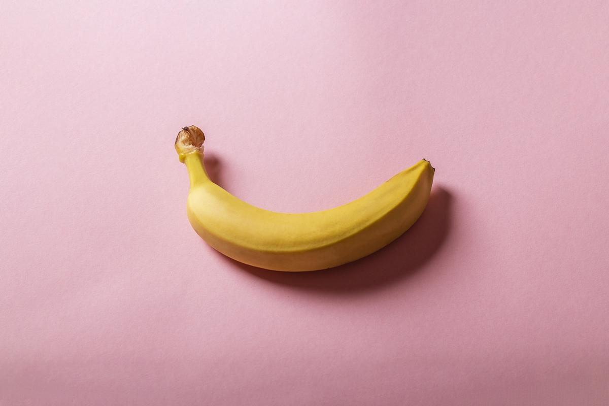 banana phallic photo