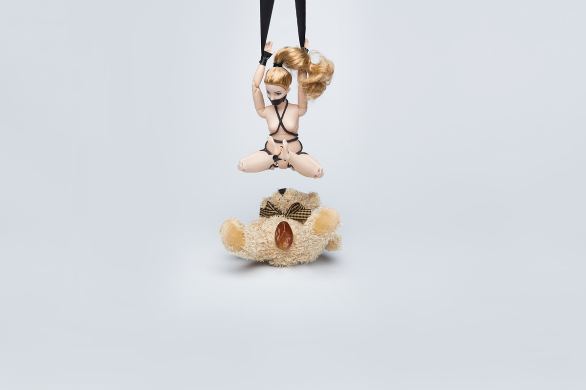 bdsm couple fetish sex positions doll bear