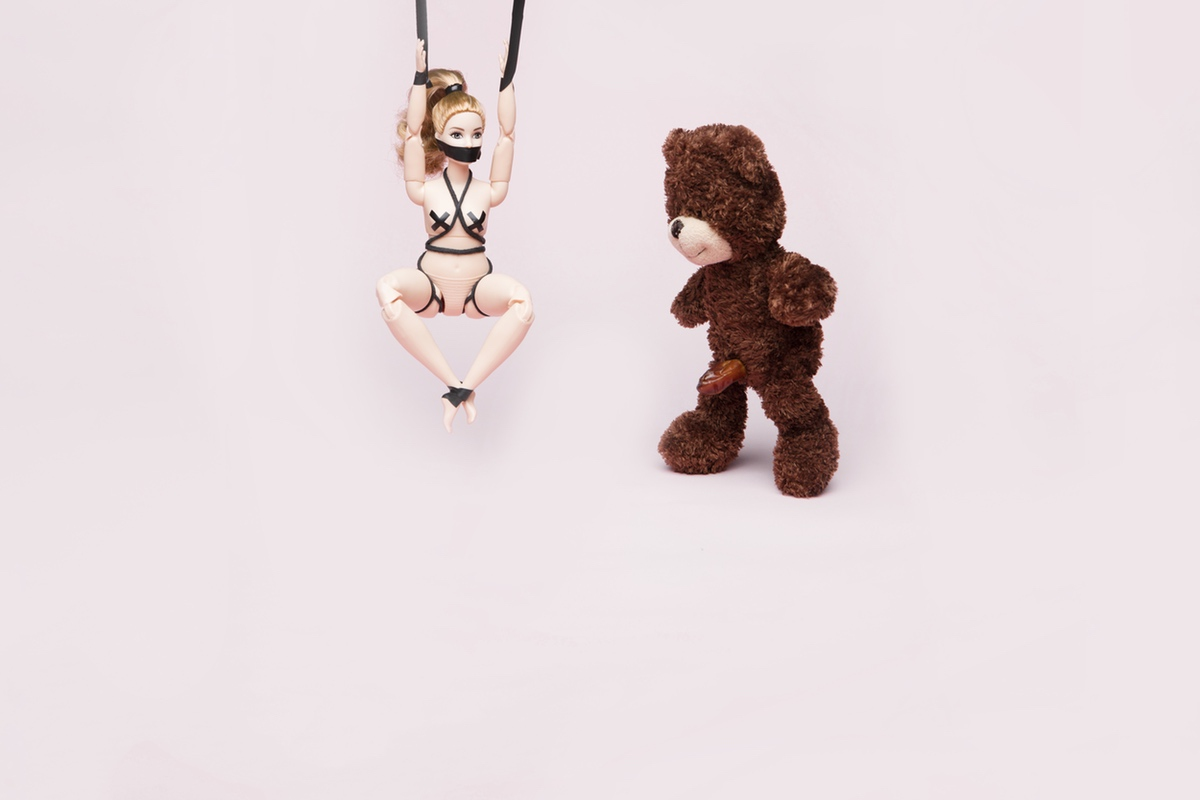 bear dick suspension bondage love