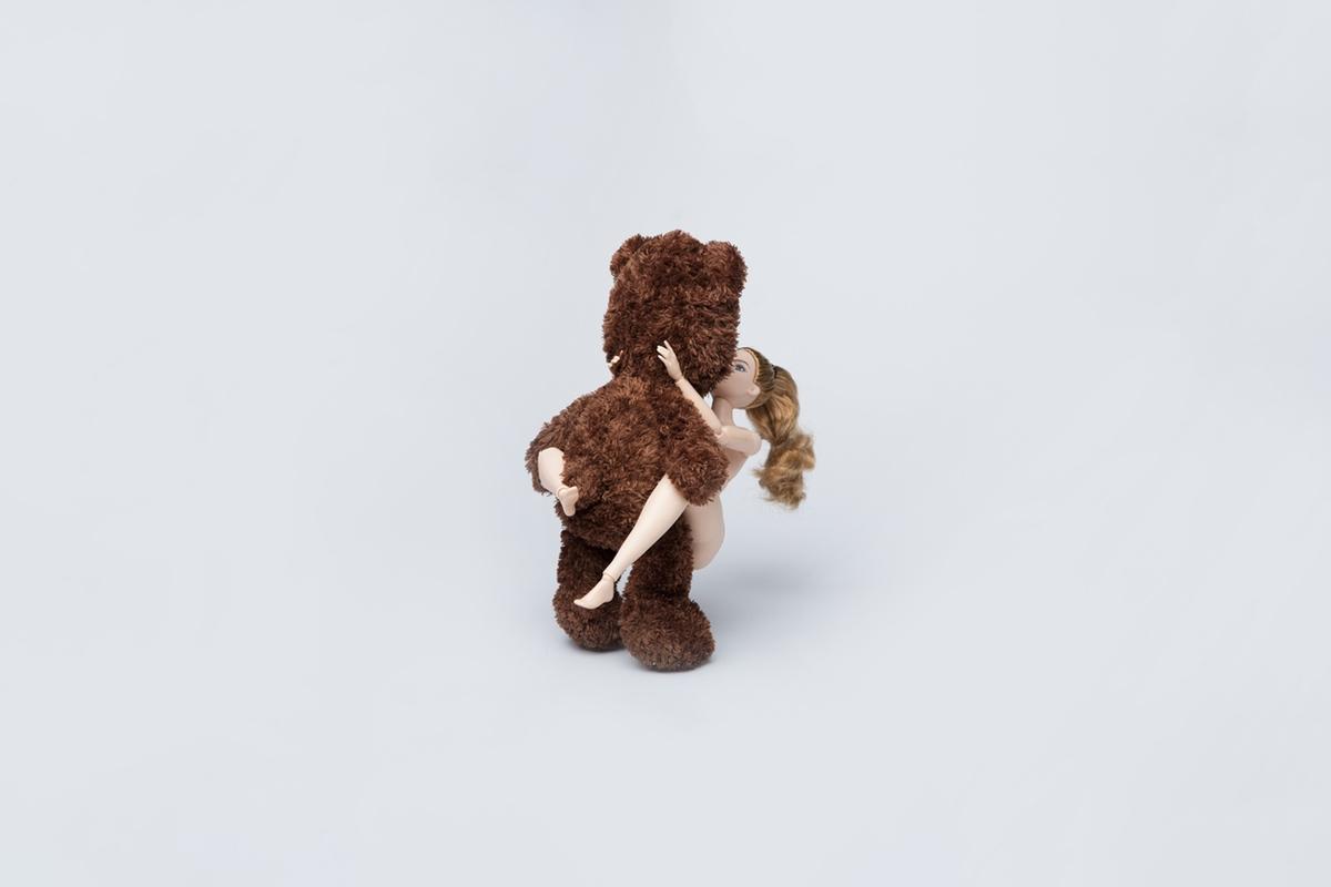 bear sex girl position love