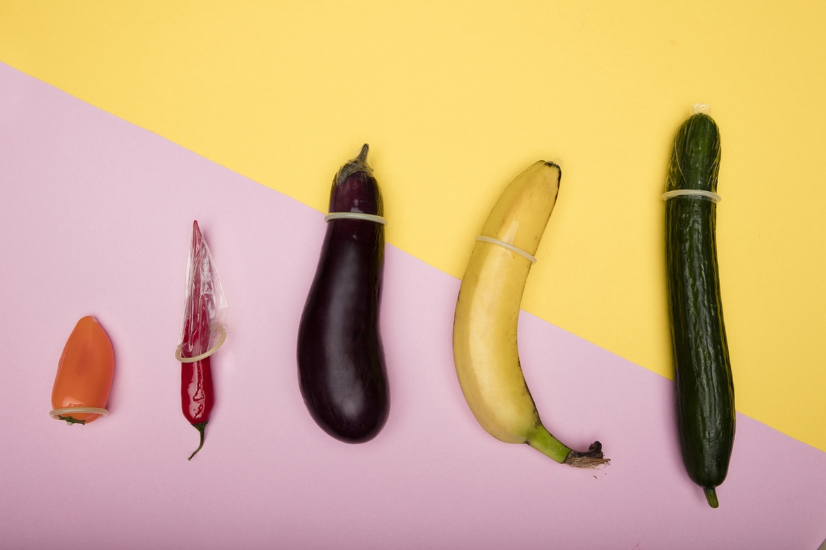 condom fruit vegetables