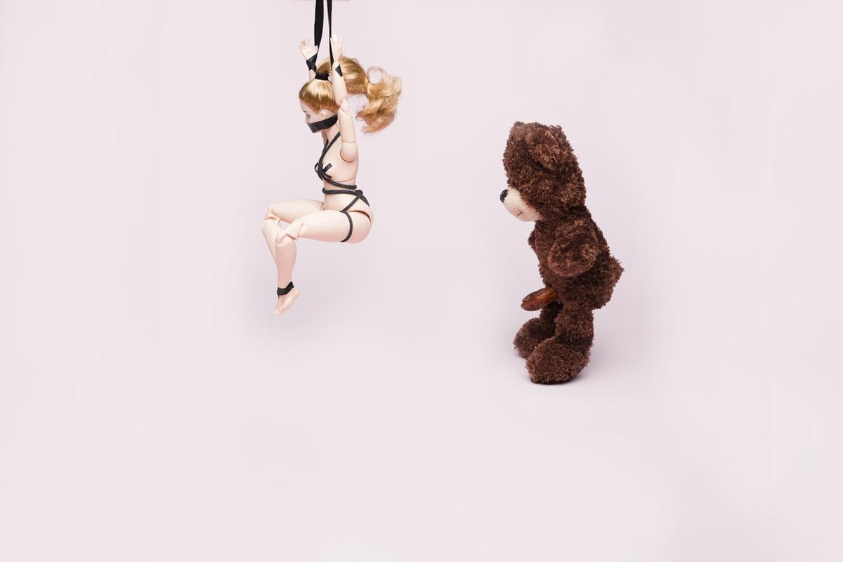 doll fetish bdsm suspension bear