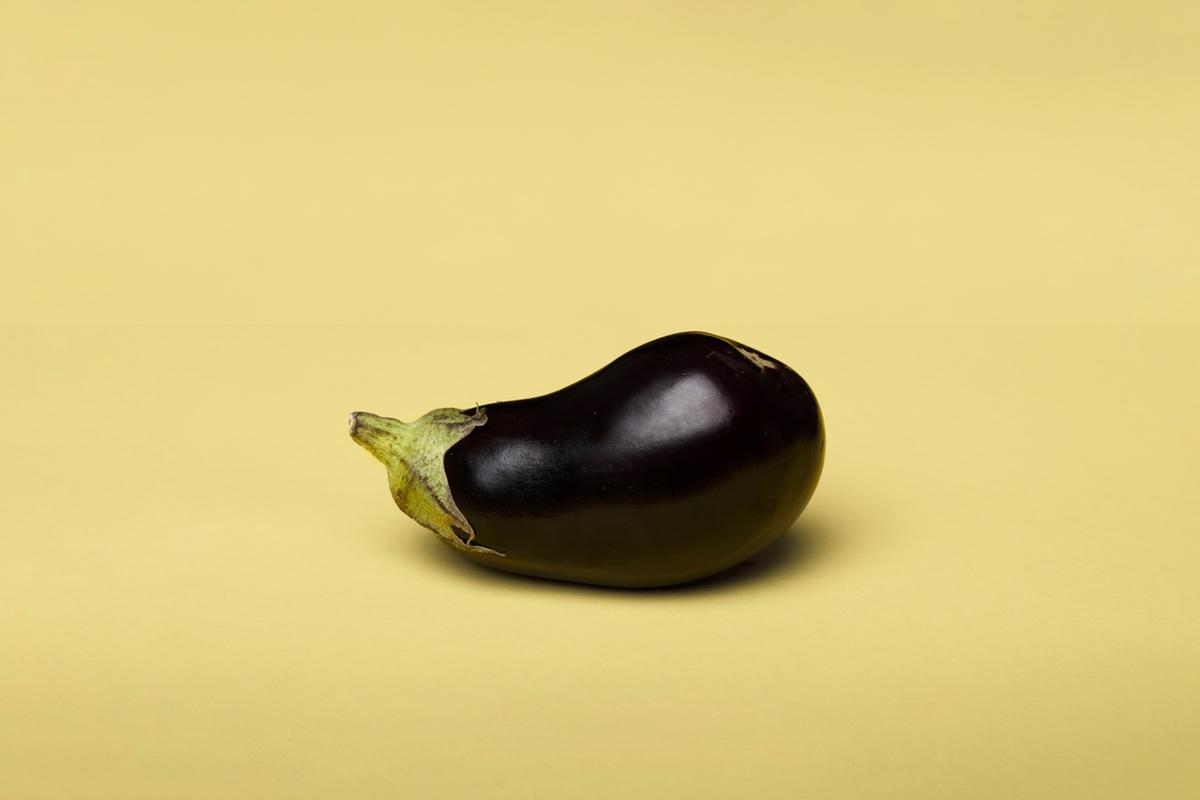 eggplant phallic
