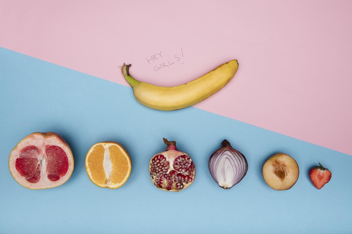 erotic photo banana fruit