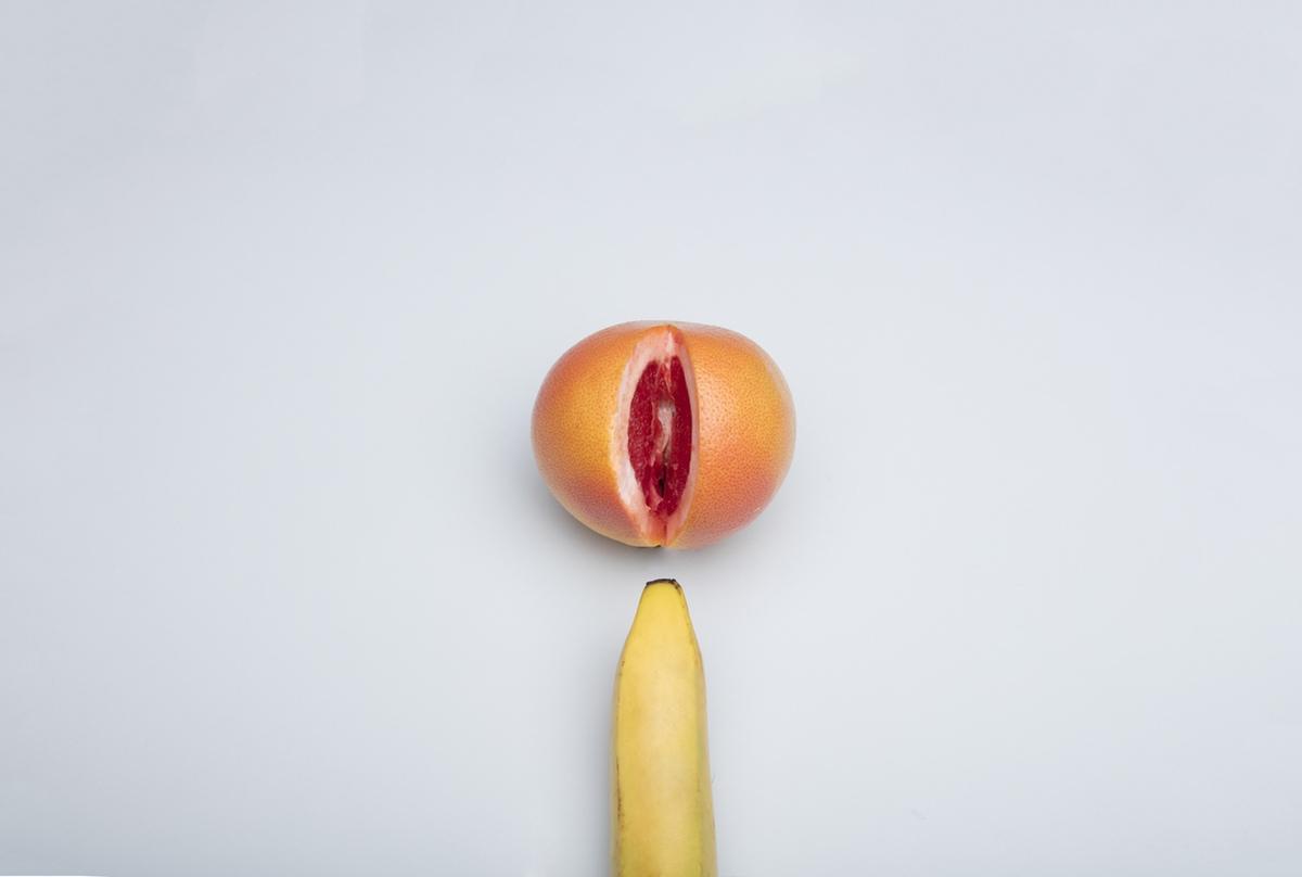 food porn banana orange sex