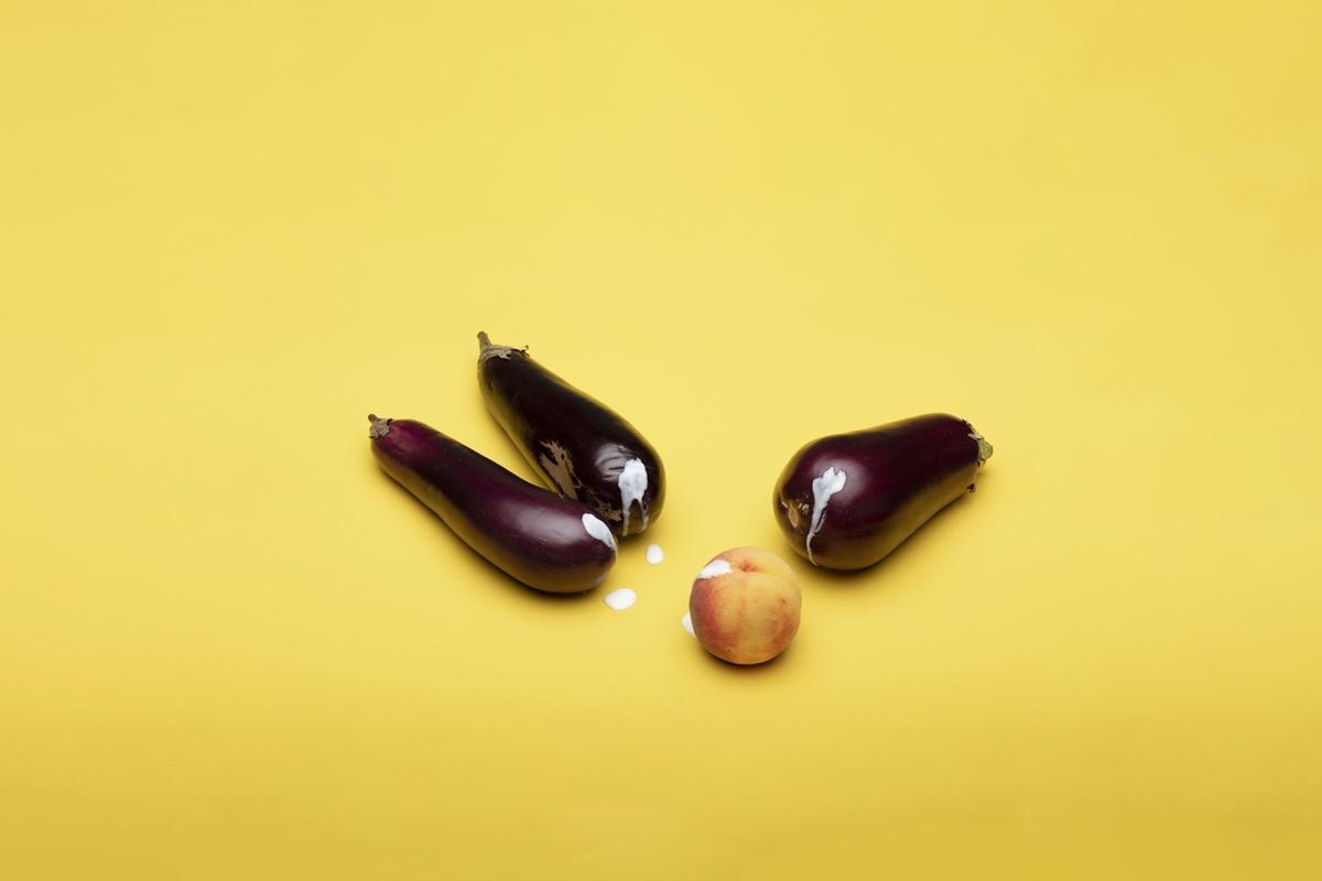 free erotic photo of eggplants