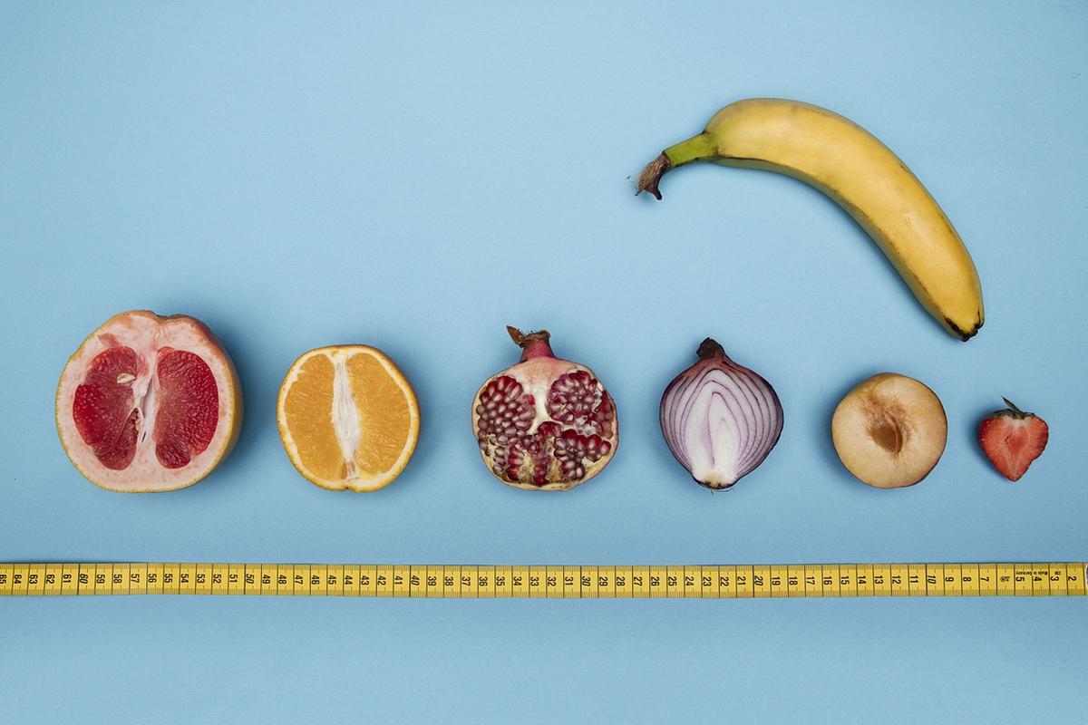 fruit vegetables measured