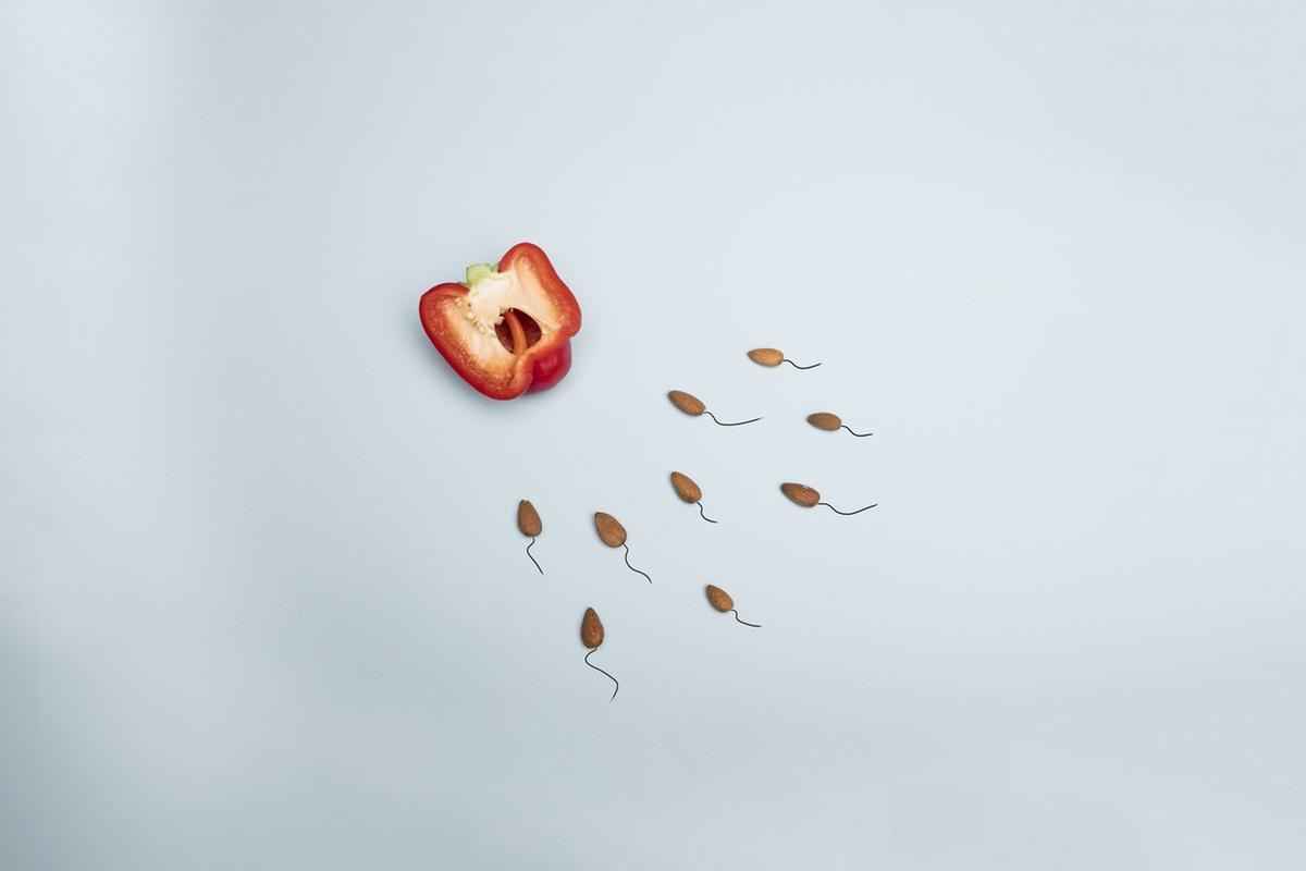 health semen almonds sex