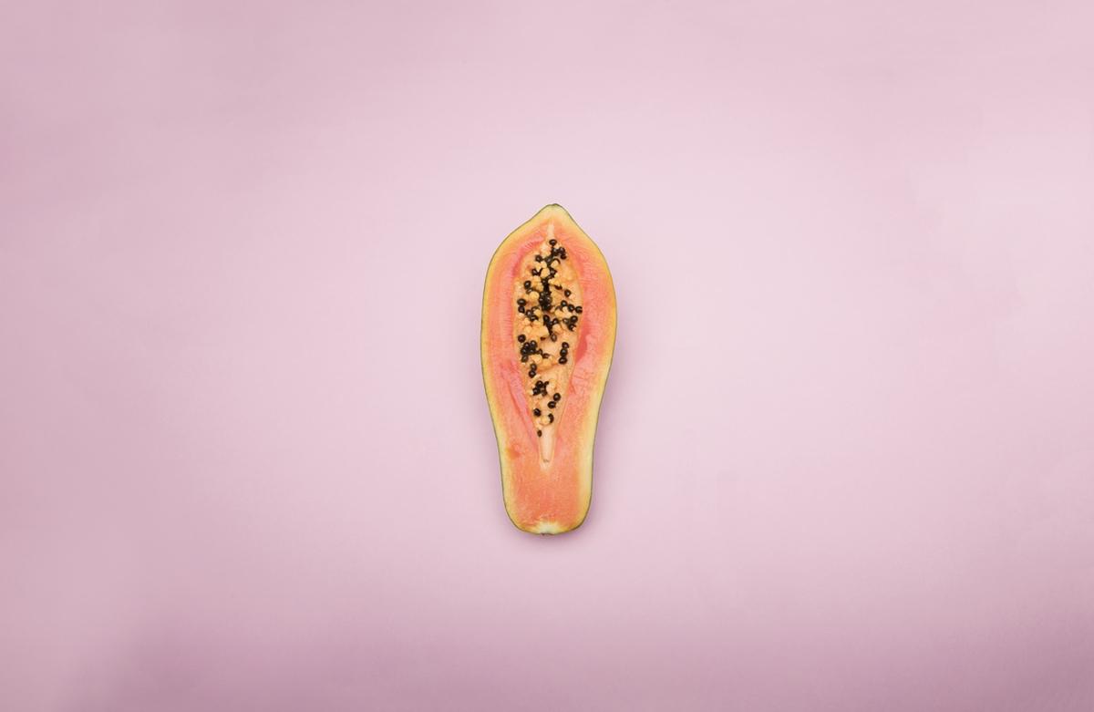 papaya vagina health