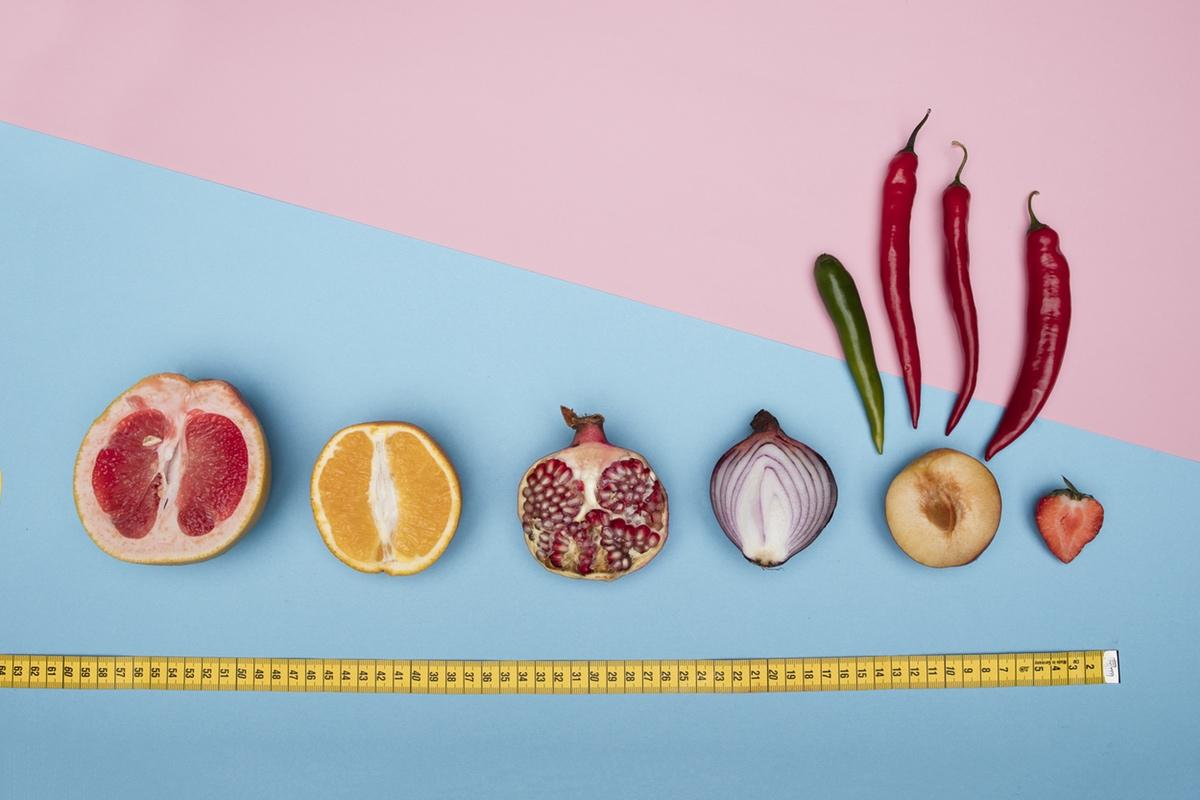 pepper grapefruits lined up