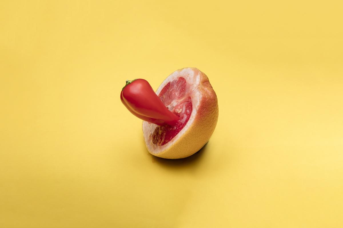 pepper in pomegranade