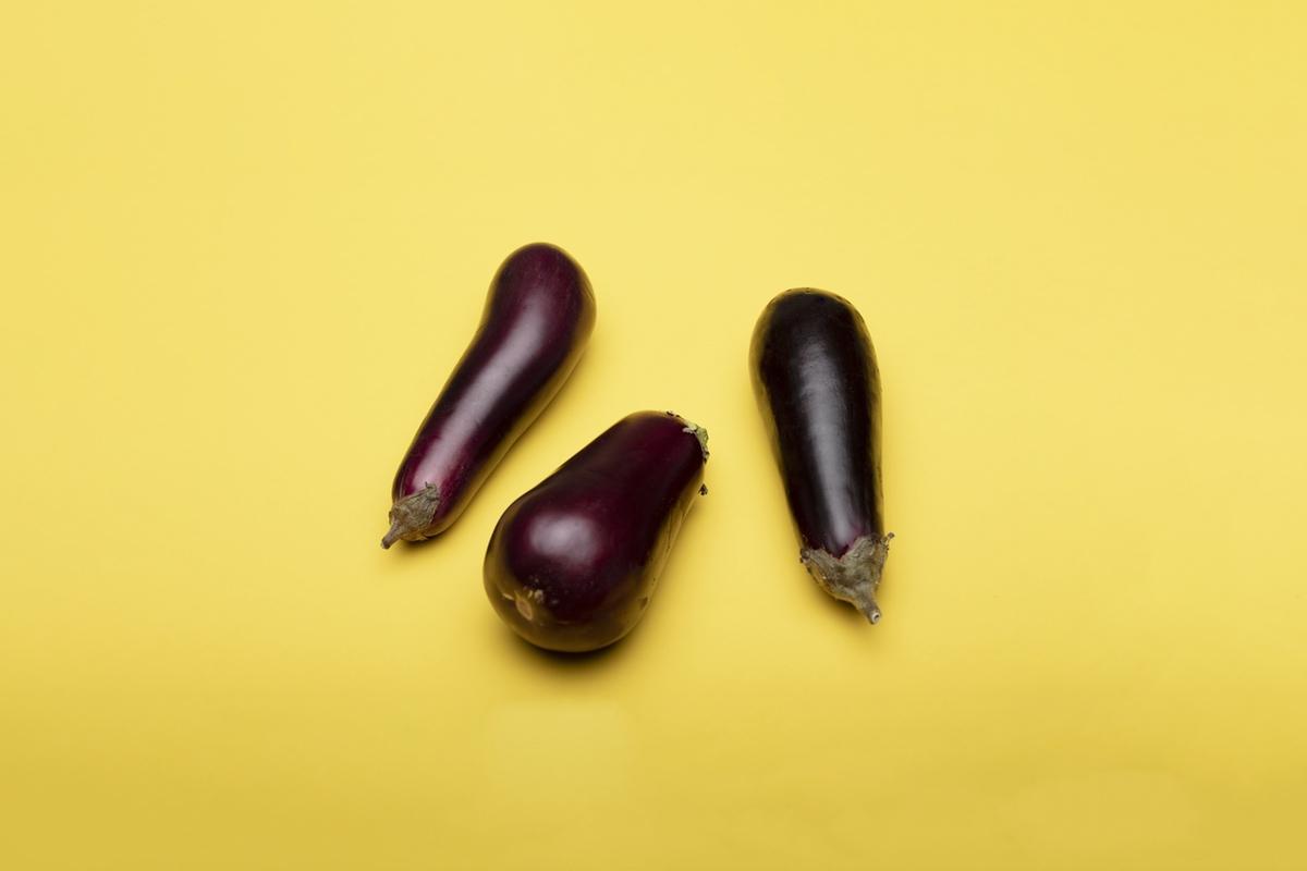 phallic erotic sex art eggplants