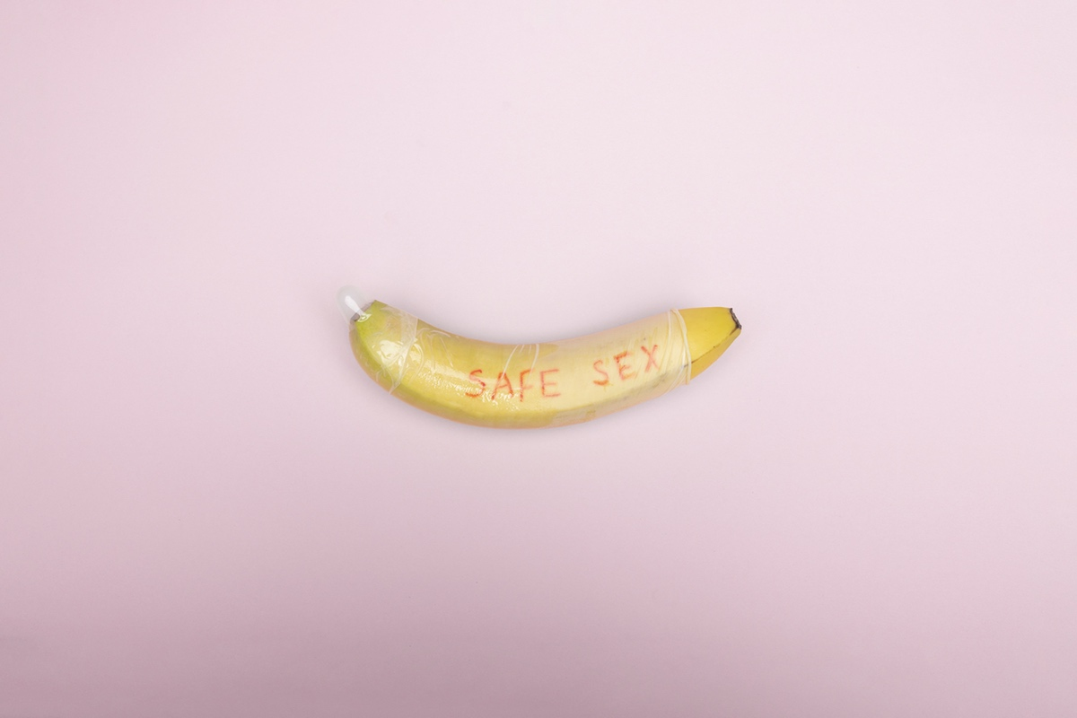 safe sex banana health