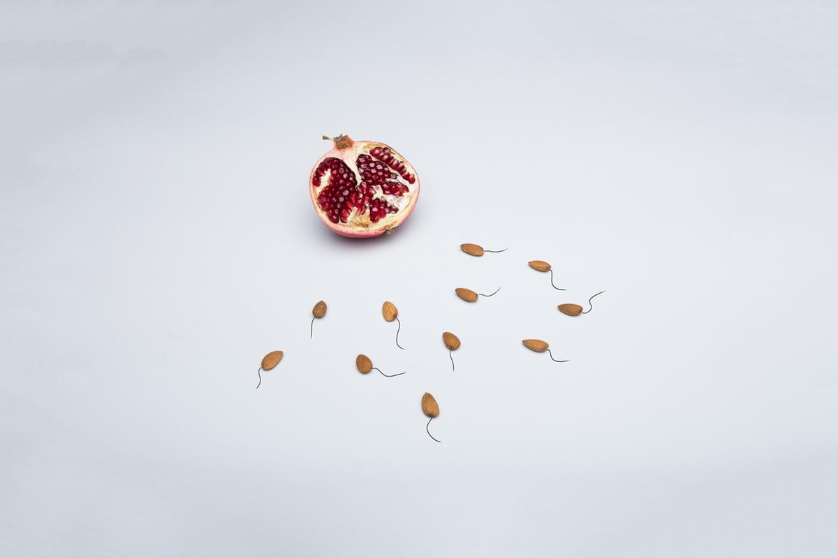 semen pomegranate health love