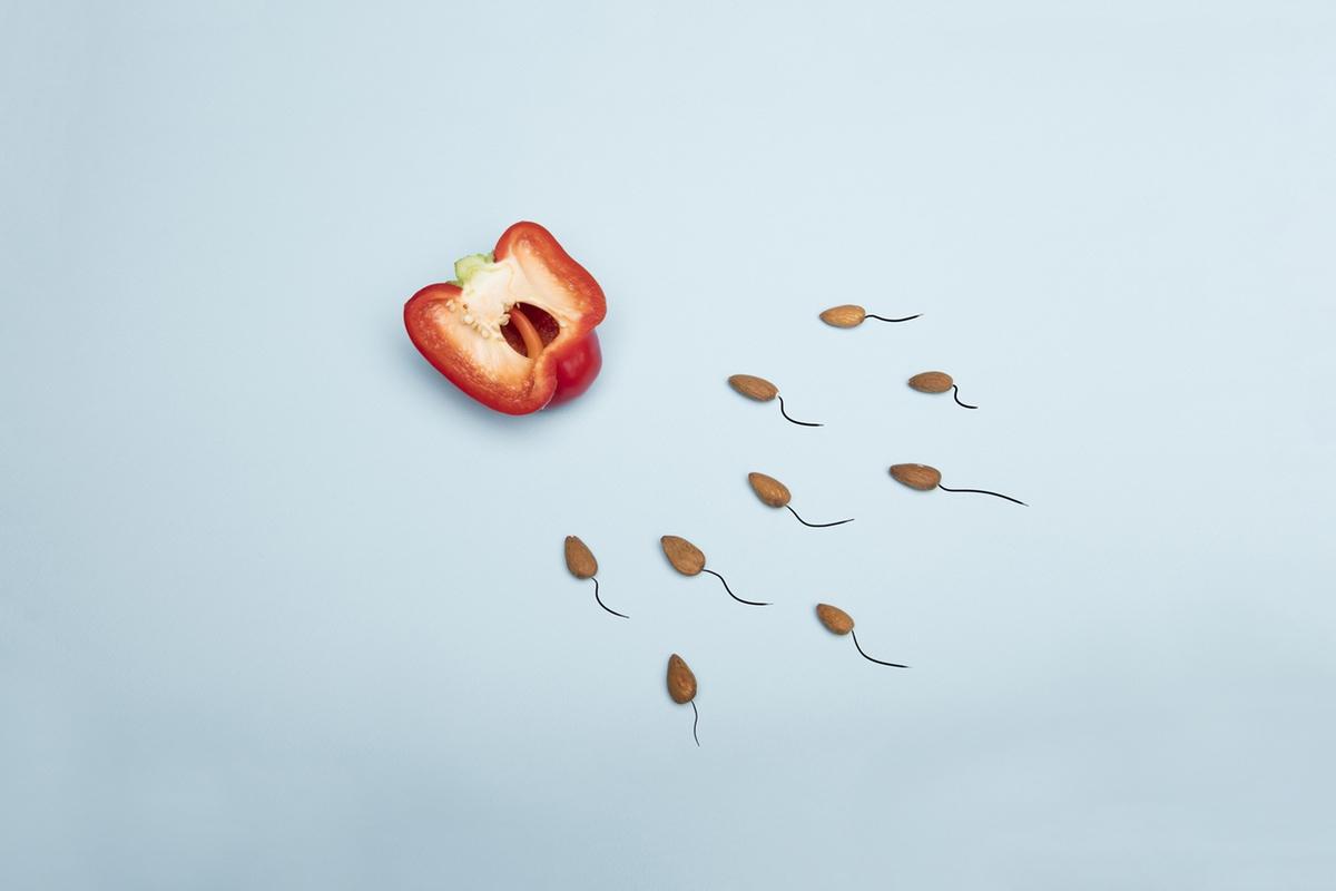 sex pregnancy sperm almonds