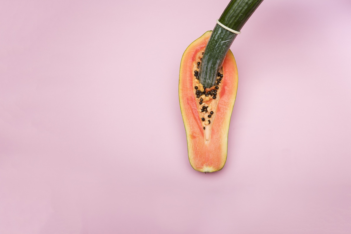 vagina papaya safe sex