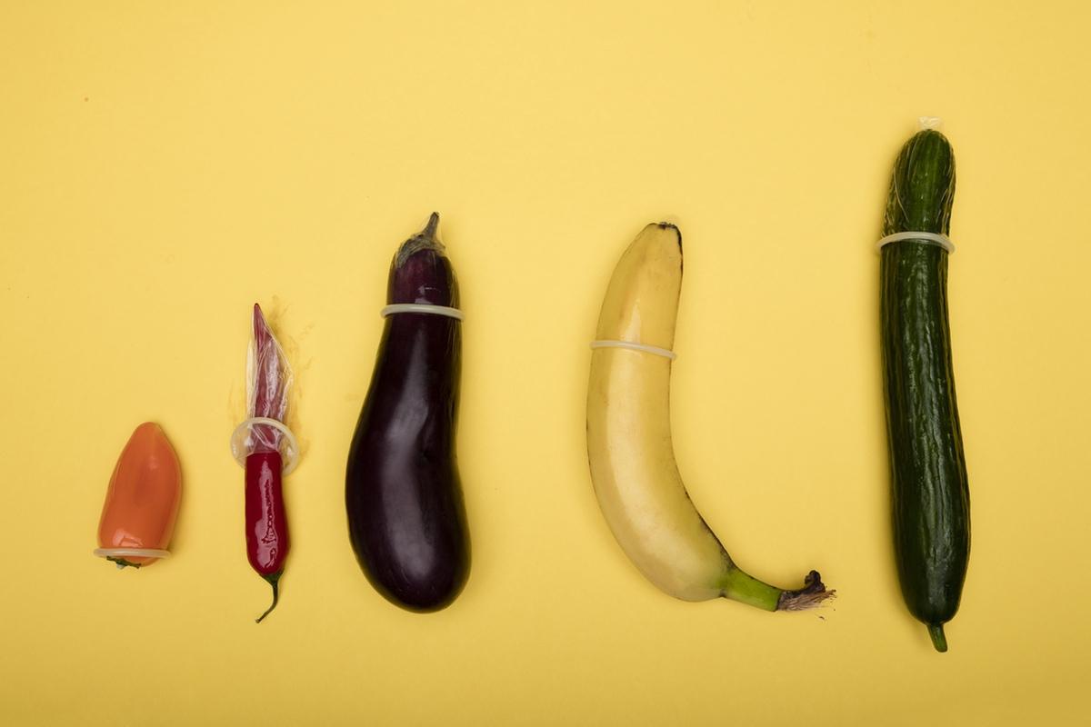 vegetables and fruit phallic